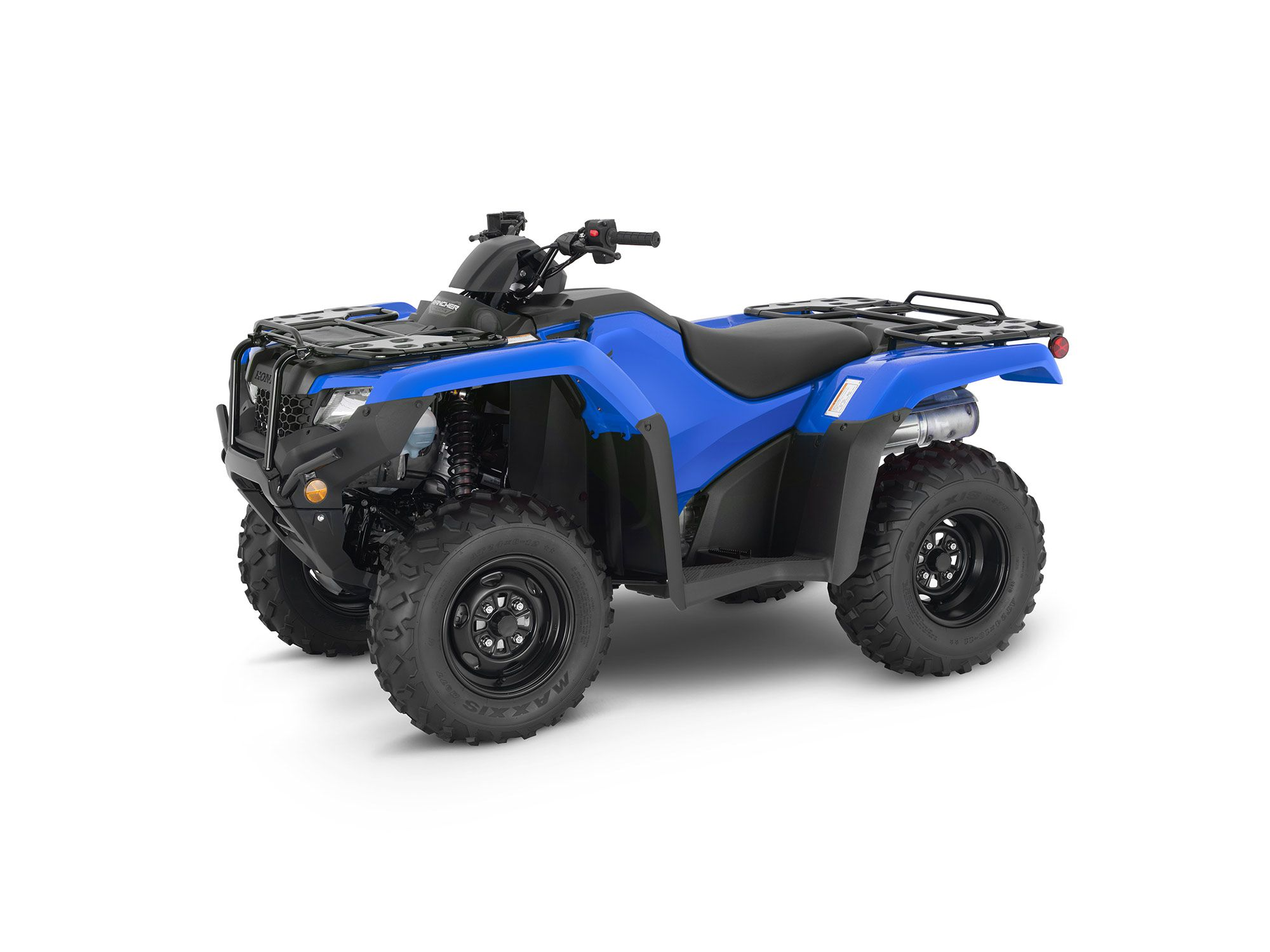 2022 FourTrax Rancher 4x4 Automatic DCT EPS in Reactor Blue.