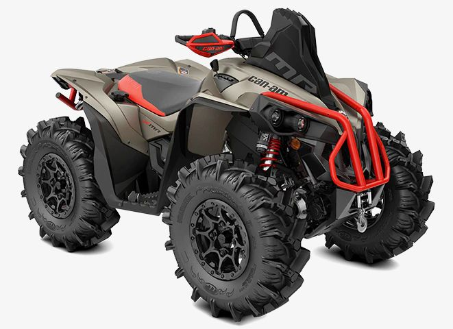 The 2022 Can-Am Renegade X MR 1000R.
