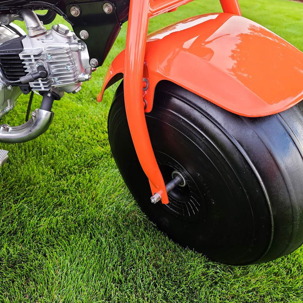 Those original hubless one-piece wheels are nearly impossible to find in good condition.