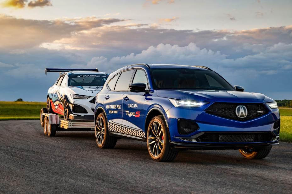 The 2021 Acura MDX can tow 5,000 pounds when properly equipped.
