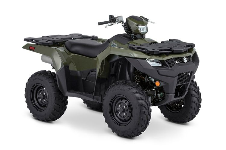 Base models can be had with or without power steering and come with steel wheels. The base power steering model includes cargo rack covers.