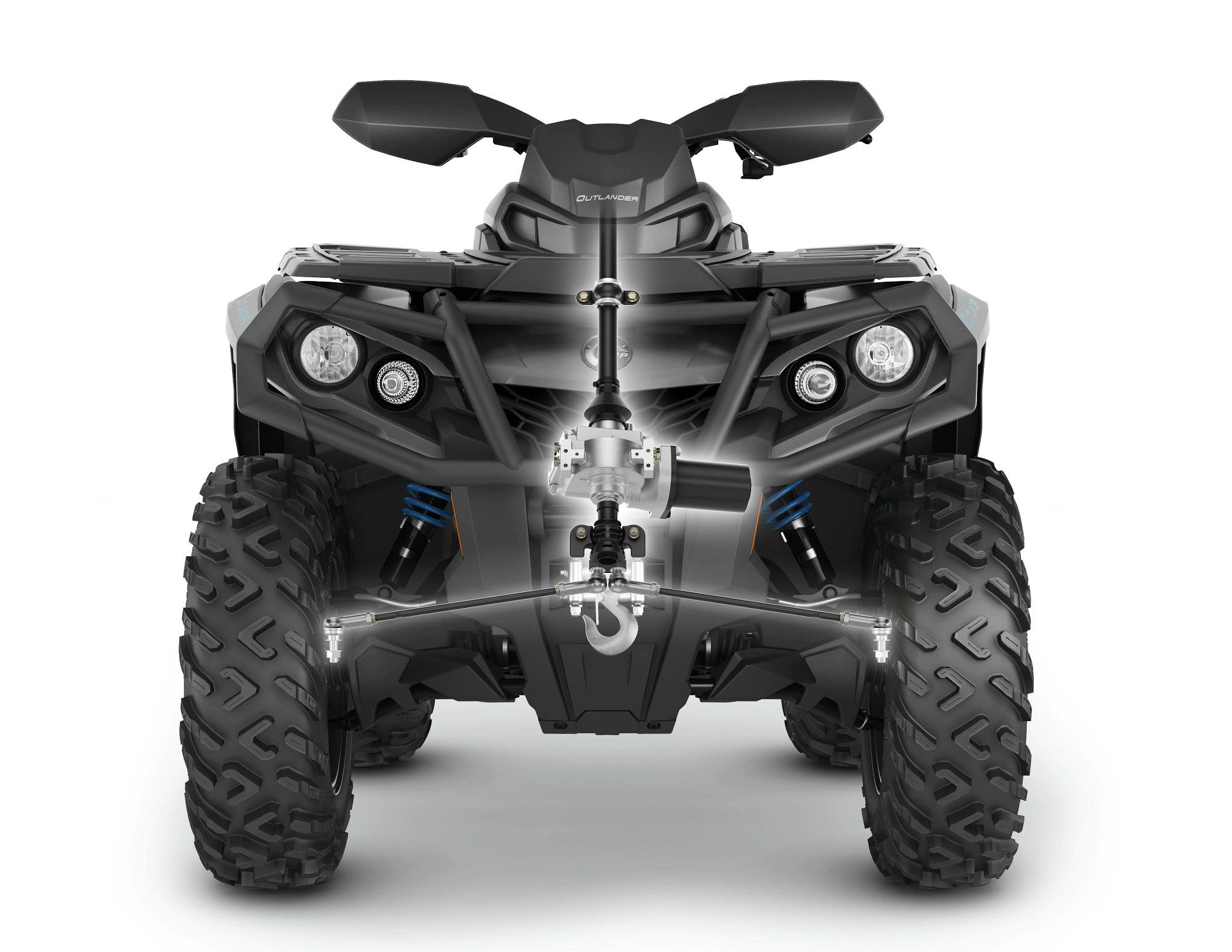 Can-Am's Tri-Mode Dynamic Power Steering is a fantastic EPS unit.