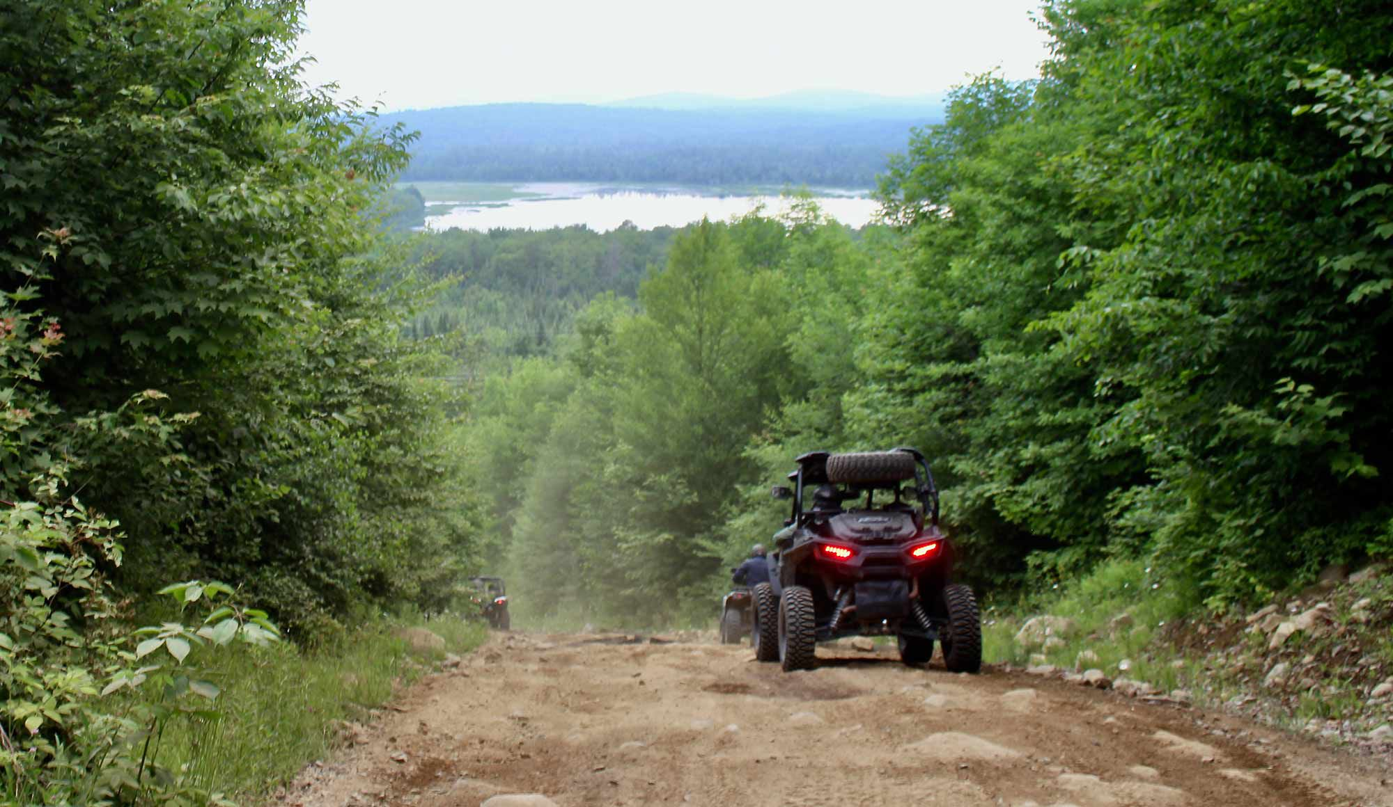 ATV and UTV heaven. More miles of trails than you can imagine and gorgeous scenery to go with it.