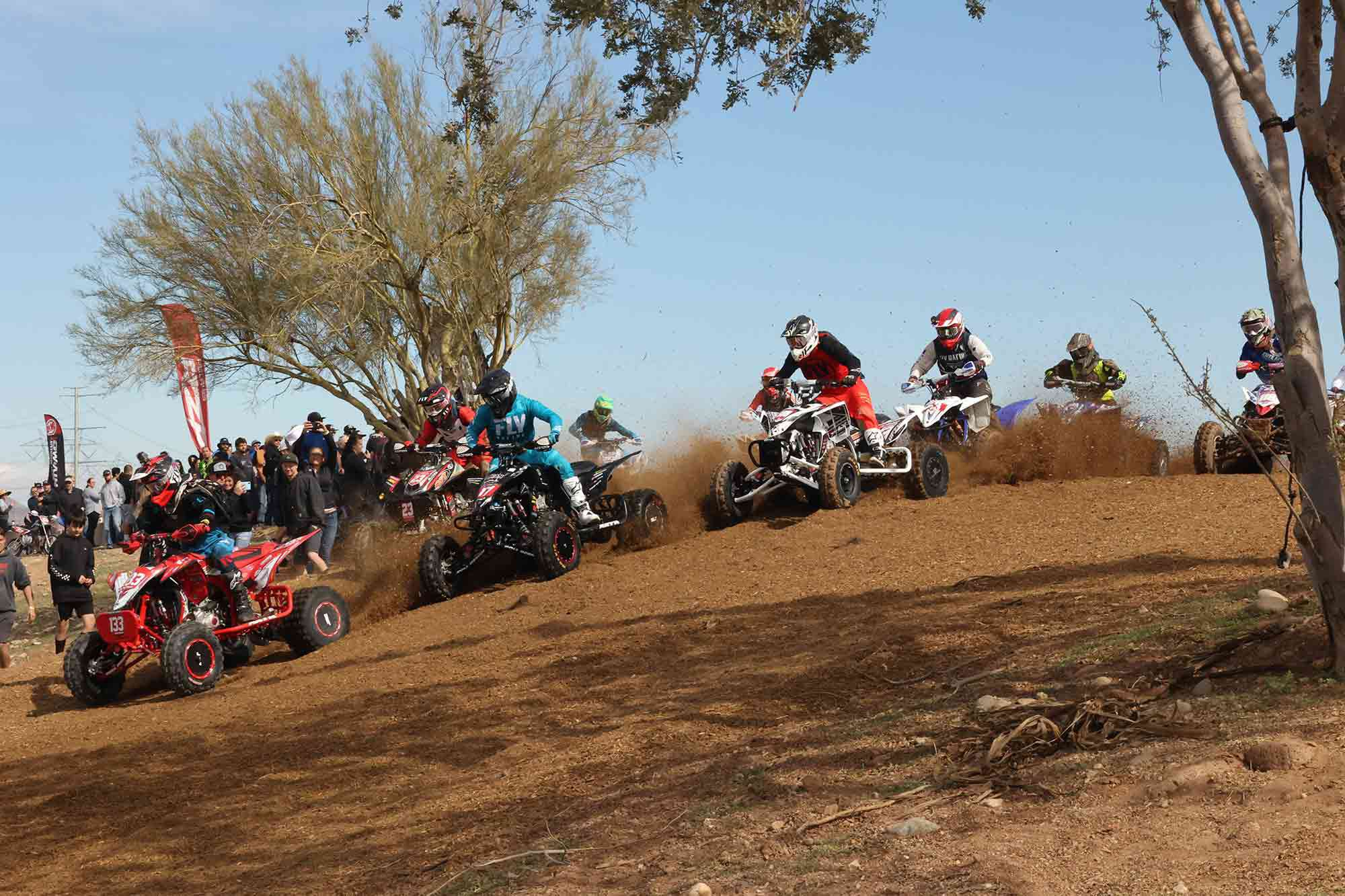 Off-road racing organizations like WORCS are seeing an increase in adult and youth ATV race entries.