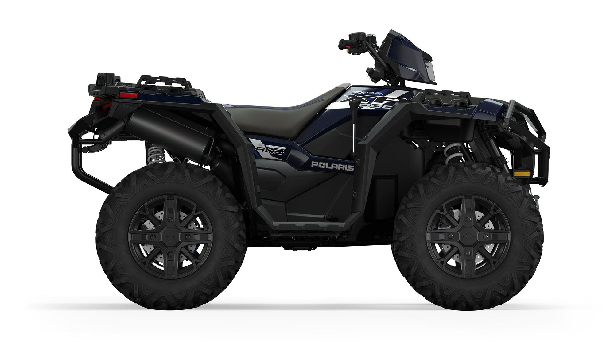 2022 Sportsman XP 1000 Ride Command Edition in Azure Crystal.