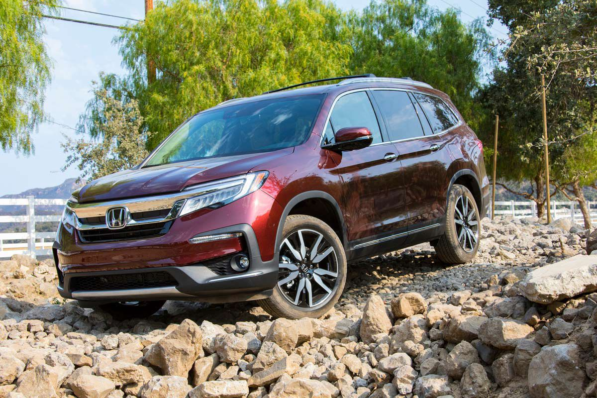 The 2021 Honda Pilot can tow up to 5,000 pounds.
