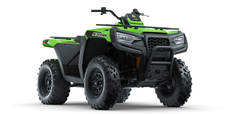 Altera 600 EPS base model in Medium Green